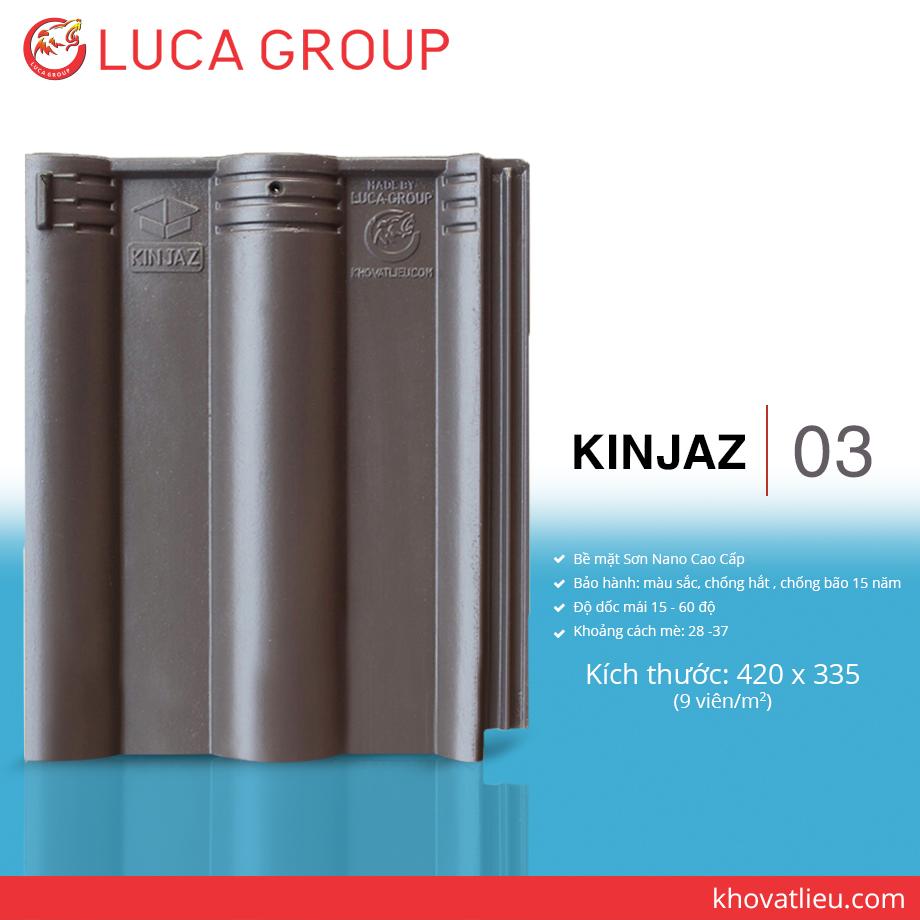 KINJAZ / 03 Ngói Màu Nhiệt Đới