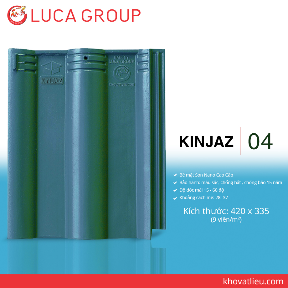 KINJAZ / 04 Ngói Màu Nhiệt Đới