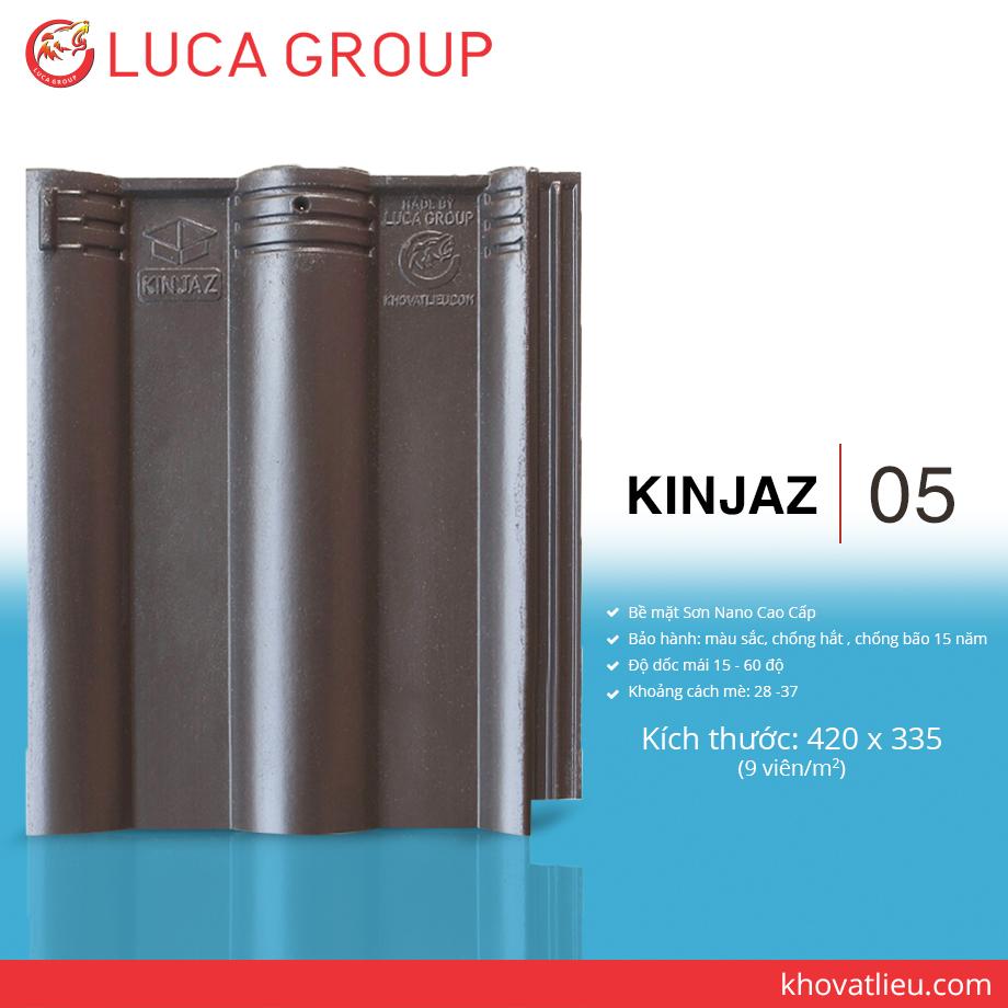 KINJAZ / 05 Ngói Màu Nhiệt Đới