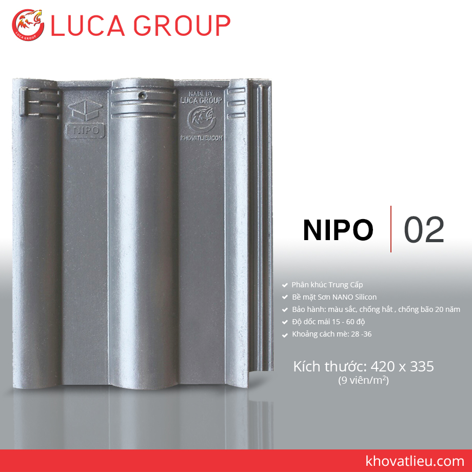 Lucagroup Smart Roof Tiles NIPO / 02