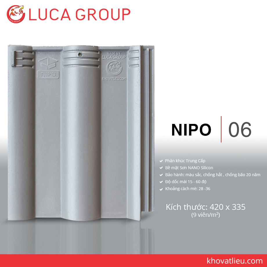 Lucagroup Smart Roof Tiles NIPO / 06
