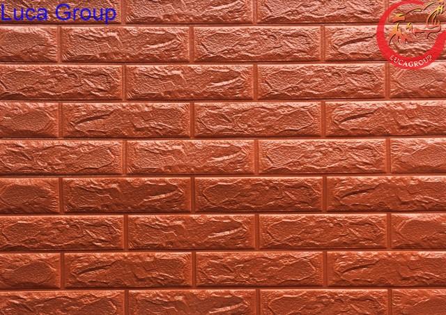 Xốp Dán Tường Giả Gạch Màu Cafe Mã 09
