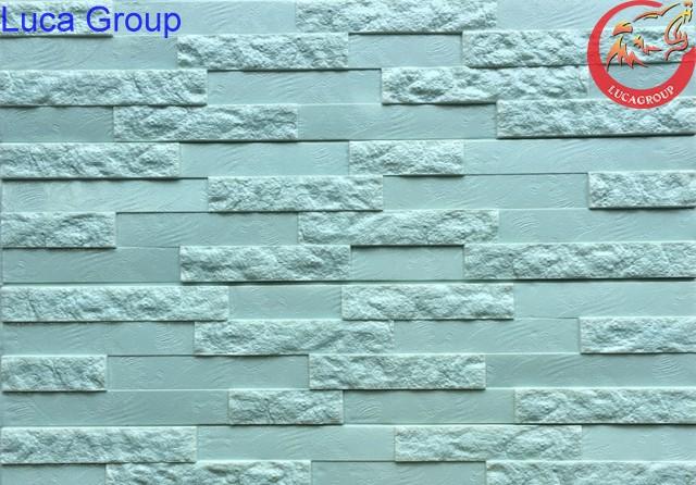 Xốp Dán Tường Giả Gạch Nhỏ Màu Xanh Cốm Mã 11