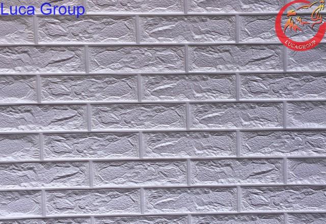 Xốp Dán Tường Giả Gạch Màu Tìm Nhạt Mã 02