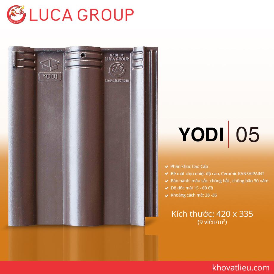 Ngói Màu Chịu Nhiệt Độ Cao YODI / 05